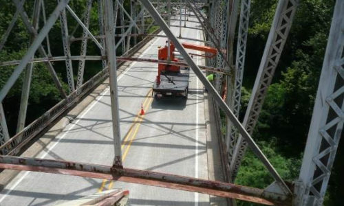 Bridge Inspection - SR 57 over White River
